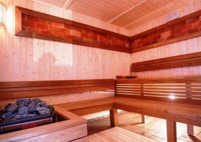 Sauna u hotelu oplenac